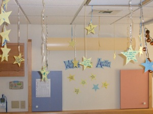 Austin's wishing stars, October 2007